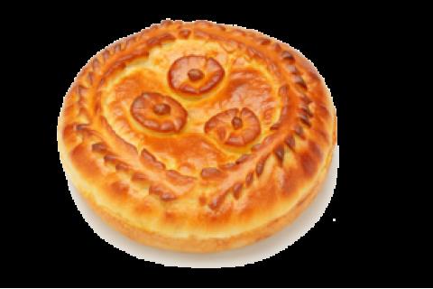 Пирог с судаком и капустой