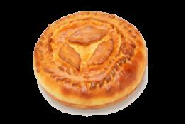 Пирог с говяжьей печенью и луком